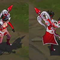 Heartseeker Vayne skin screenshot