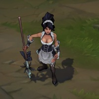 French Maid Nidalee skin screenshot