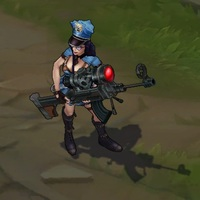 Officer Caitlyn skin screenshot