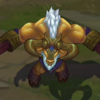 Golden Alistar skin screenshot