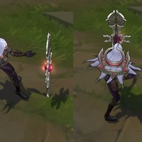 Nightblade Irelia skin screenshot