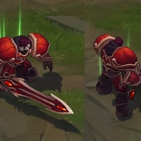 Sanguine Garen skin screenshot