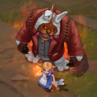 Annie in Wonderland skin screenshot