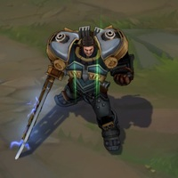 Steel Legion Garen skin screenshot