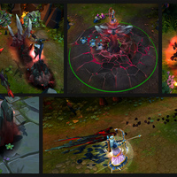 Bloodstone Lissandra skin screenshot