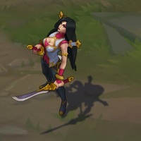 Warring Kingdoms Katarina skin screenshot