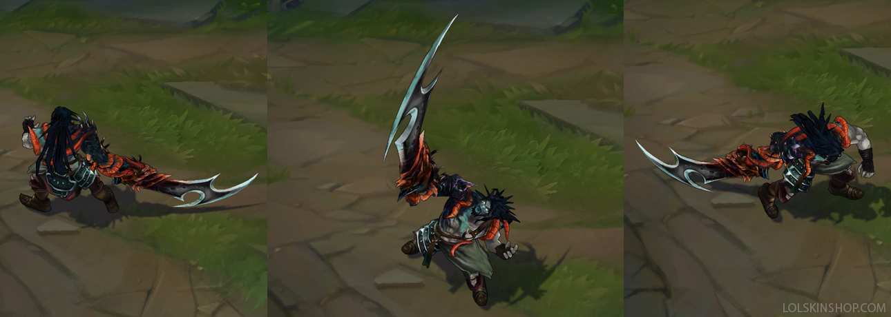 All Tryndamere Skins