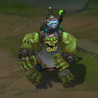 Zombie Nunu skin screenshot