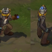 Explorer Ezreal skin screenshot