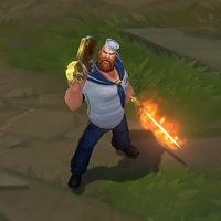 Sailor Gangplank skin screenshot