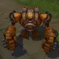 Rusty Blitzcrank skin screenshot