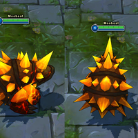 Molten Rammus skin screenshot