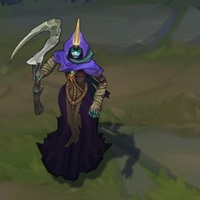 Reaper Soraka skin screenshot