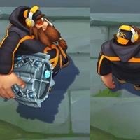 Fnatic Gragas skin screenshot