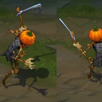 Pumpkinhead Fiddlesticks skin screenshot