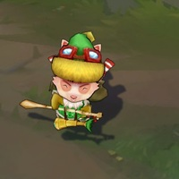 Happy Elf Teemo skin screenshot