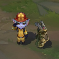 Firefighter Tristana skin screenshot