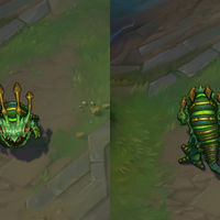 Caterpillar Kog'Maw skin screenshot