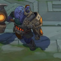 Hextech Sion skin screenshot