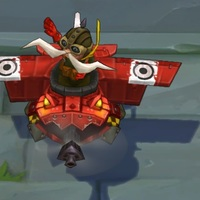 Red Baron Corki skin screenshot