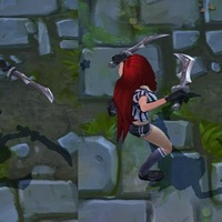 Red Card Katarina skin screenshot