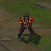 The Magnificent Twisted Fate skin screenshot