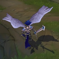 Silver Kayle skin screenshot