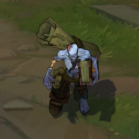 Zombie Ryze skin screenshot