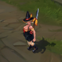 Bewitching Nidalee skin screenshot
