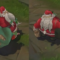 Santa Gragas skin screenshot