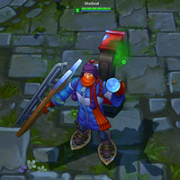 Snow Day Singed skin screenshot