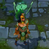 Sun Goddess Karma skin screenshot