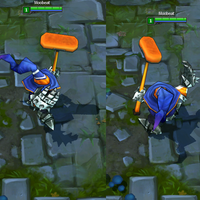 Curling Veigar skin screenshot