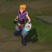 Arcade Ezreal skin screenshot