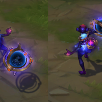 Dark Star Orianna skin screenshot