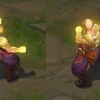 God Fist Lee Sin skin screenshot