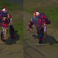 Blood Moon Jhin skin screenshot
