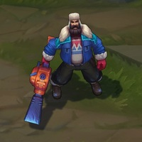 Snow Day Graves skin screenshot