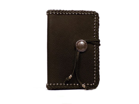 Black Leather Bound Address Book
