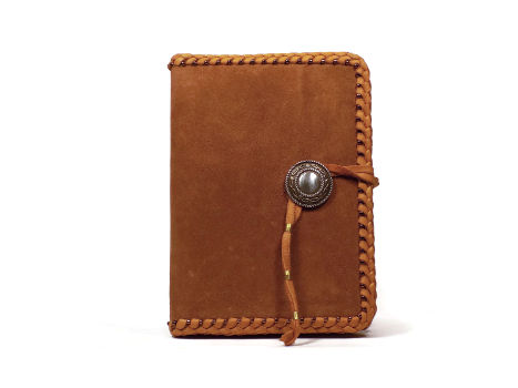 Brown Leather Bound Journal