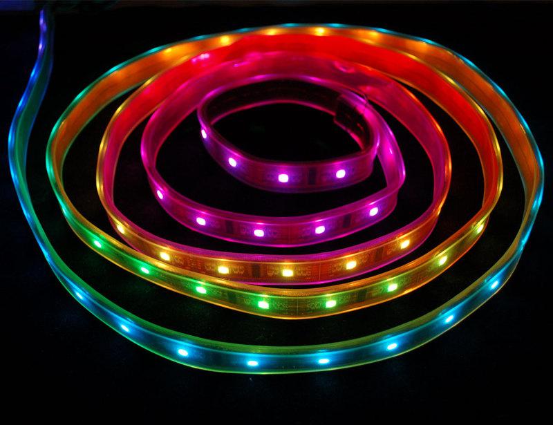 Overview Digital RGB LED Strip Adafruit Learning System