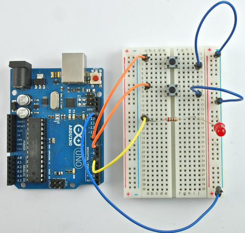 Arduino Lesson 6. Digital Inputs