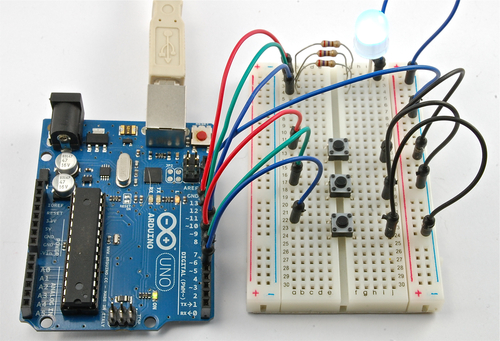 Arduino Lesson 7. Make an RGB LED Fader