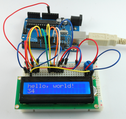Arduino Lesson 11. LCD Displays - Part 1