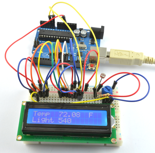Arduino Lesson 12. LCD Displays - Part 2