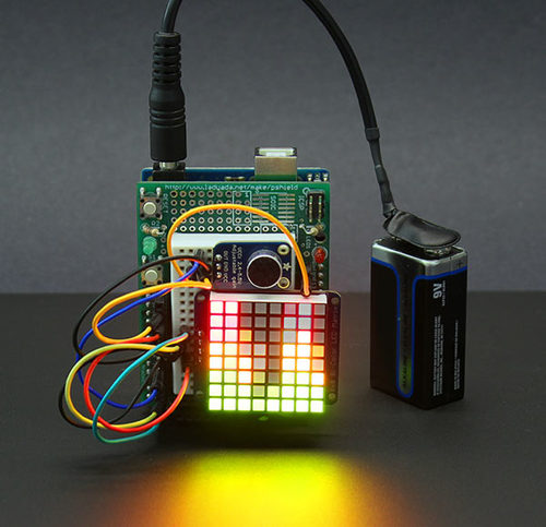 Tiny Arduino Music Visualizer