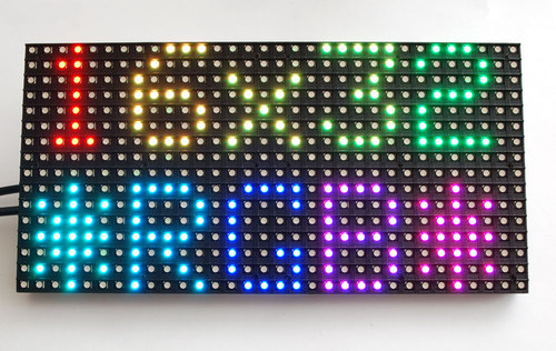 32x16 and 32x32 RGB LED Matrix