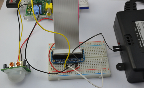 Adafruit's Raspberry Pi Lesson 13. Power Control
