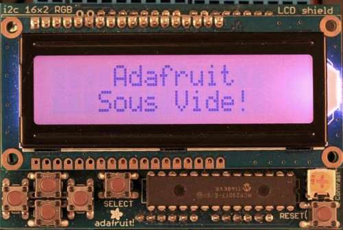 Sous-vide controller powered by Arduino - The SousViduino!