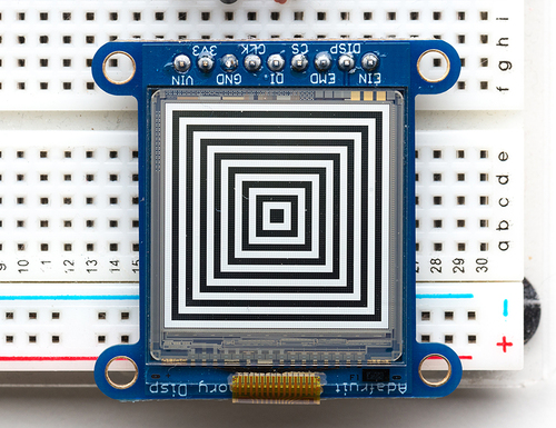 Adafruit Sharp Memory Display Breakout
